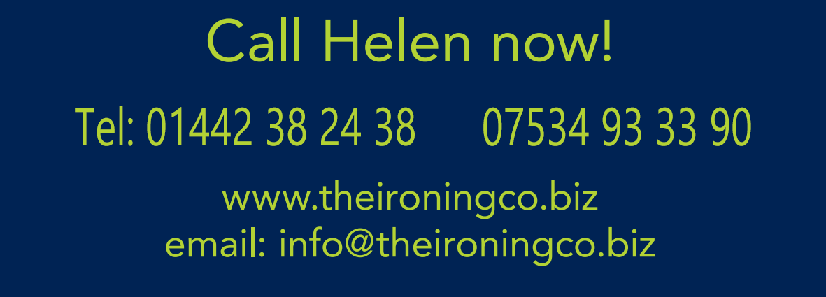 Ironing Service in Berkhamsted, Hemel Hempstead